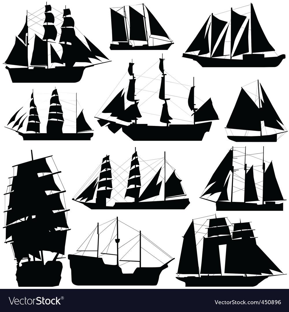 old ship royalty free vector image vectorstock rh vectorstock com ship victory ship vector art