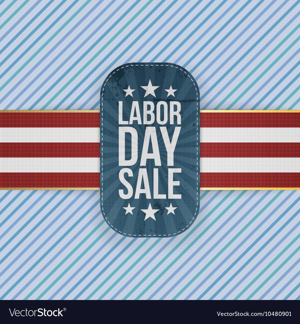 Labor Day Sale patriotic Emblem