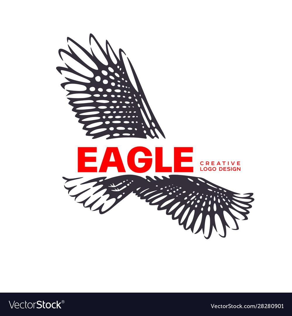 Logotype eagle