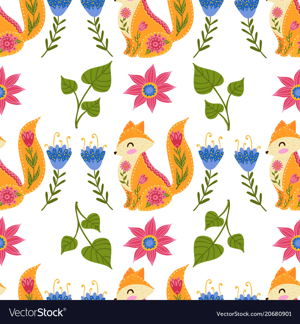 Seamless pattern colorful