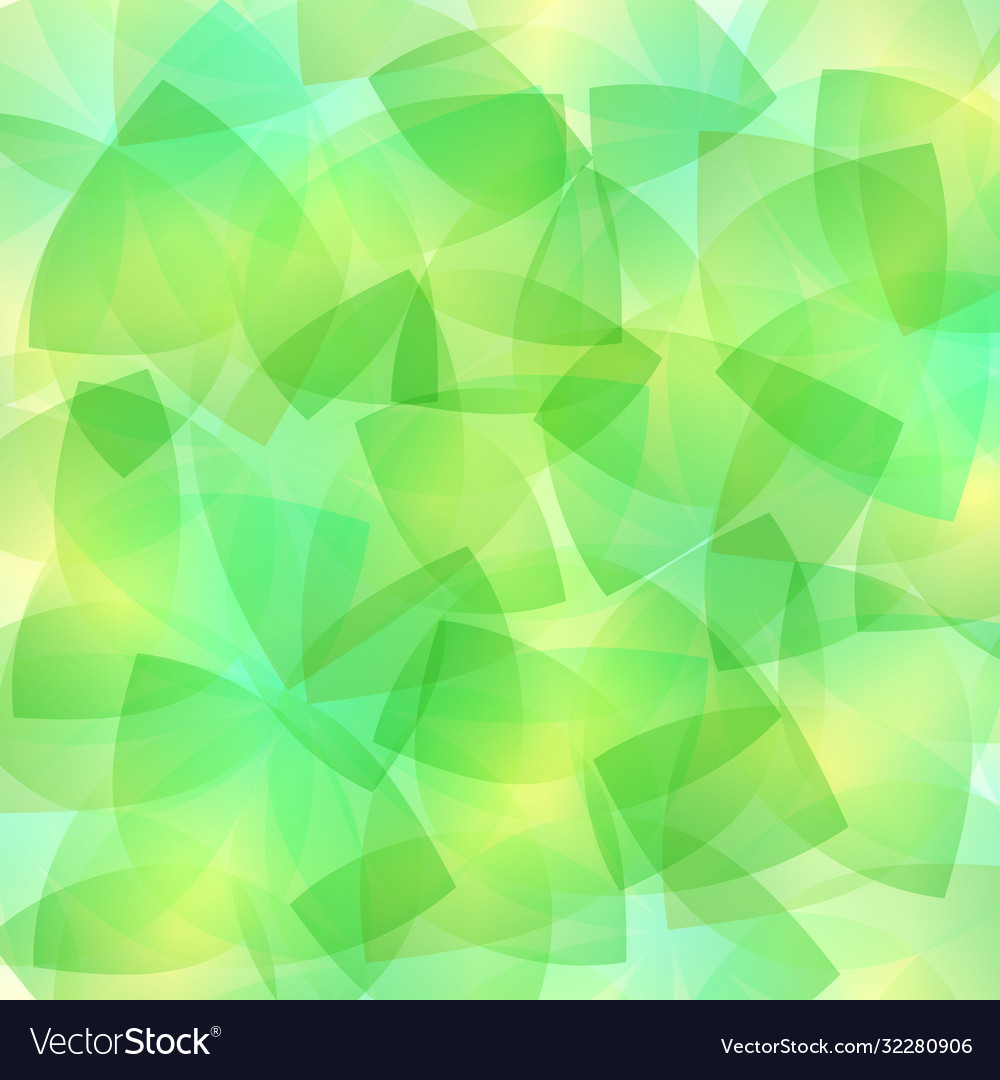 Abstract mosaic green glasses background art
