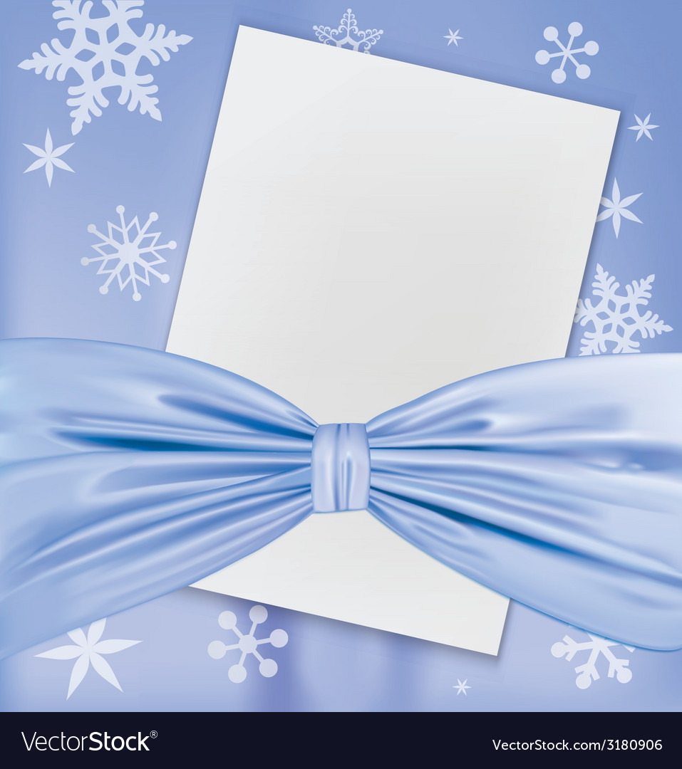 Christmas blank white paper