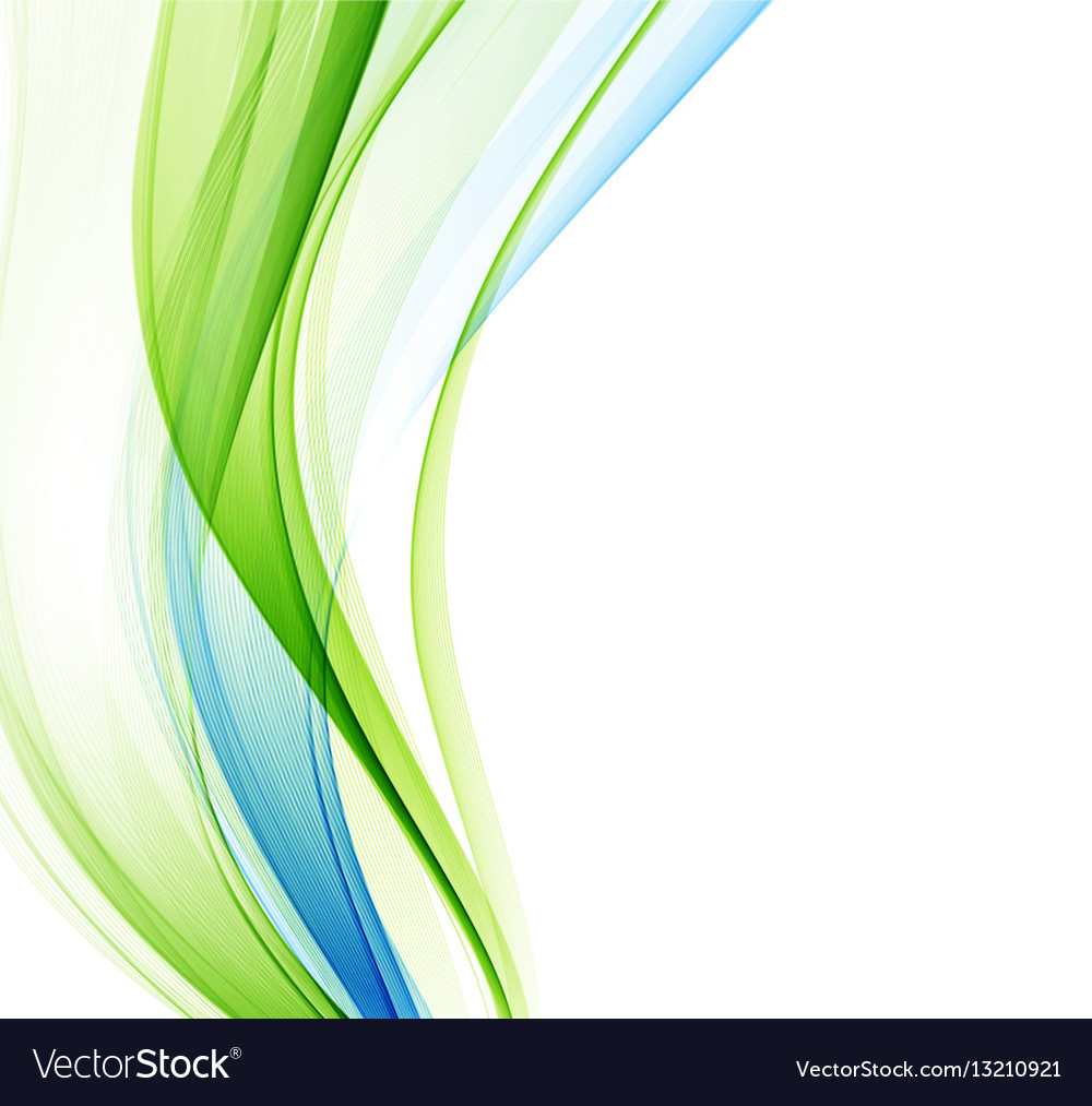 Abstract Background Blue Green Wavy Royalty Free Vector