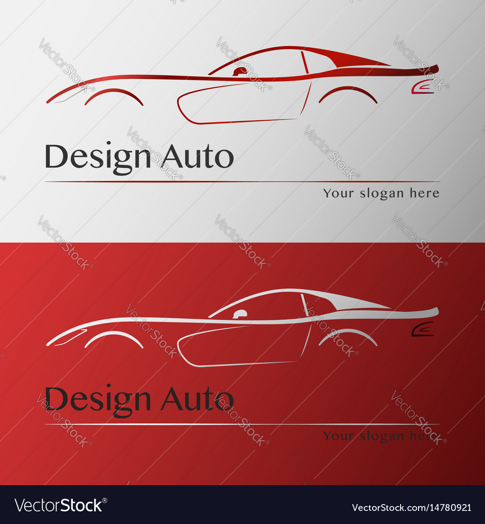 Design car with business card template royalty free vector design car with business card template vector image wajeb Images