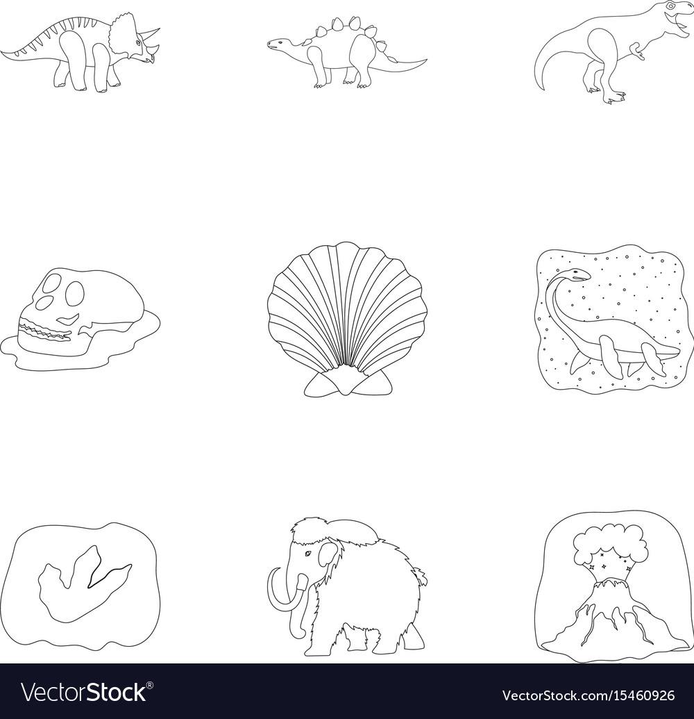 Image of: Png All Thats Interesting Ancient Extinct Animals And Their Tracks And Vector Image