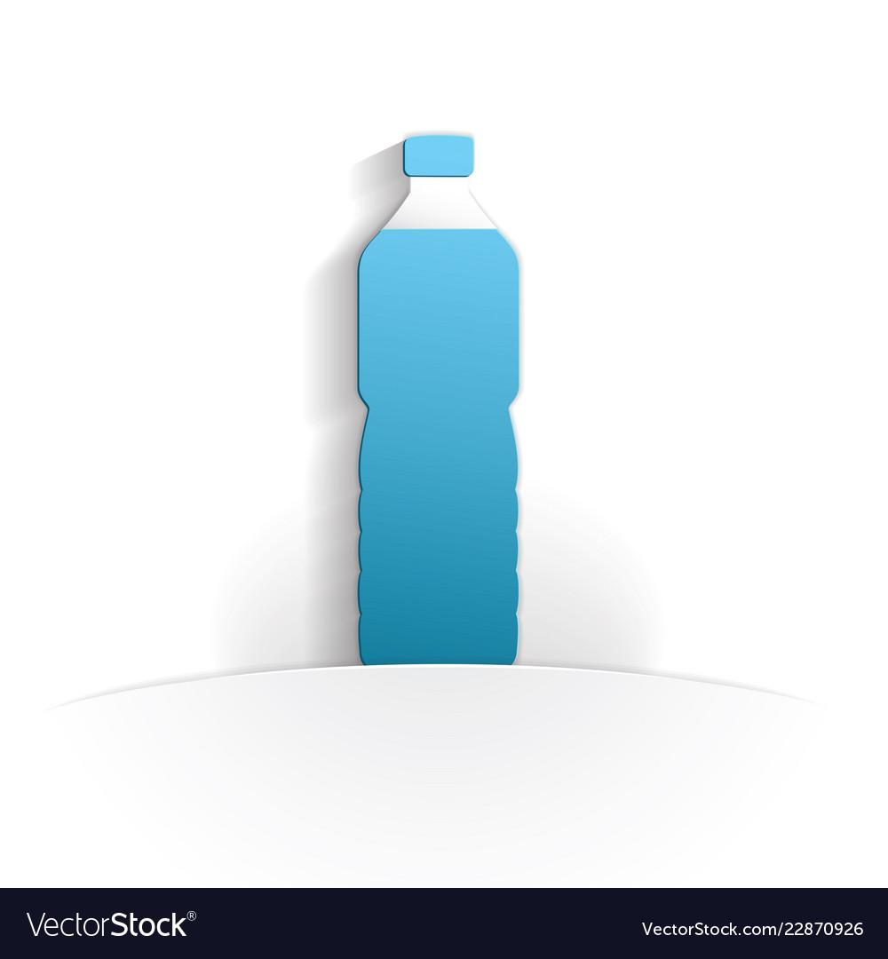 Bottle icon paper