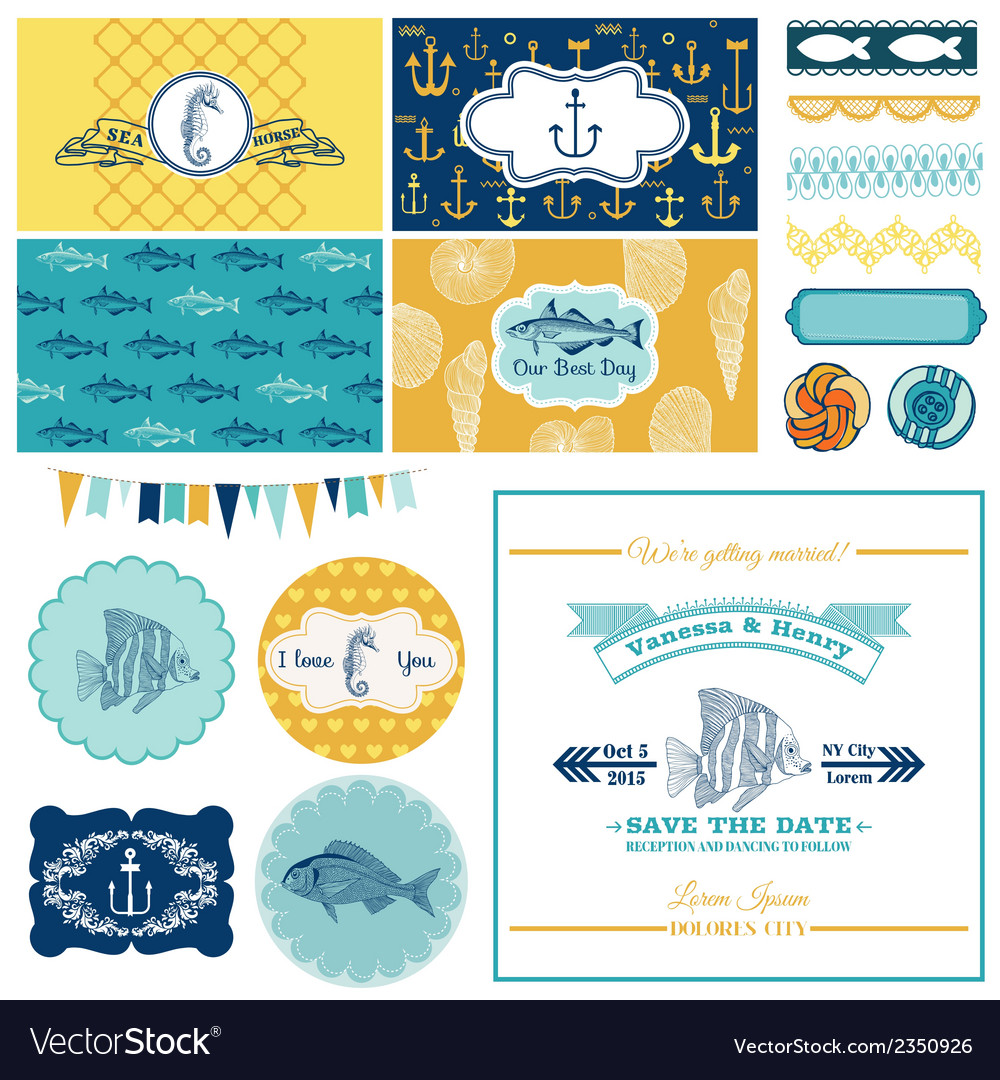 Nautical Sea Theme Set For Party Decoration