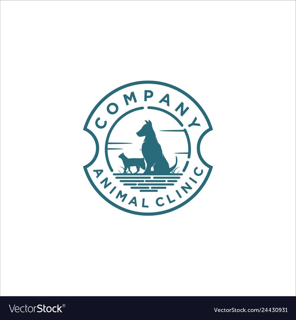 Animal clinic logo designs