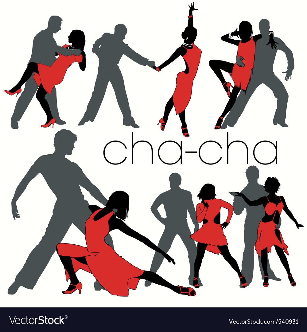 Chacha dancers set