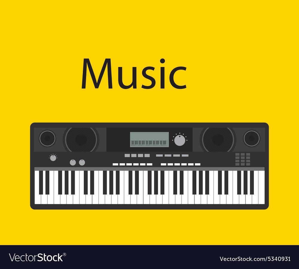 Music online vector image