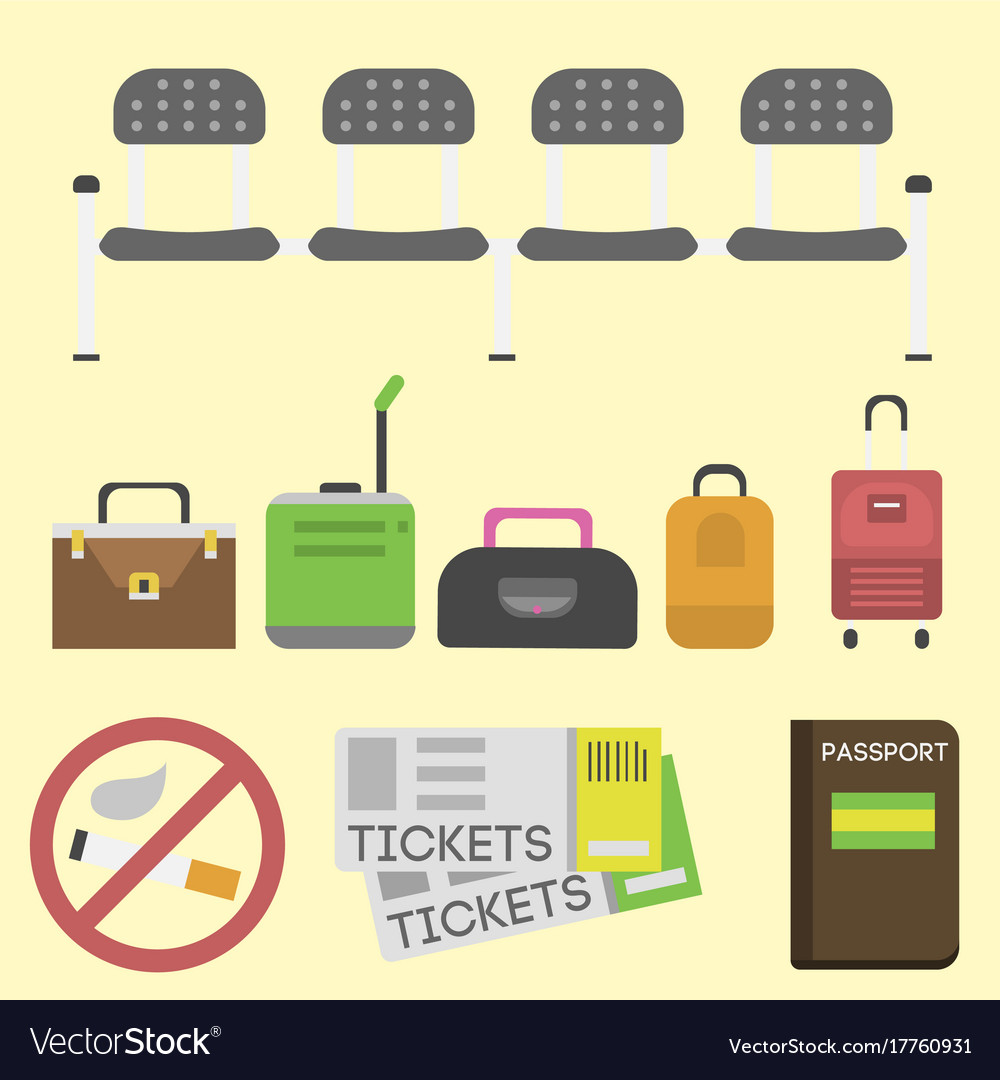 Travel tourism fashion baggage and vacation handle