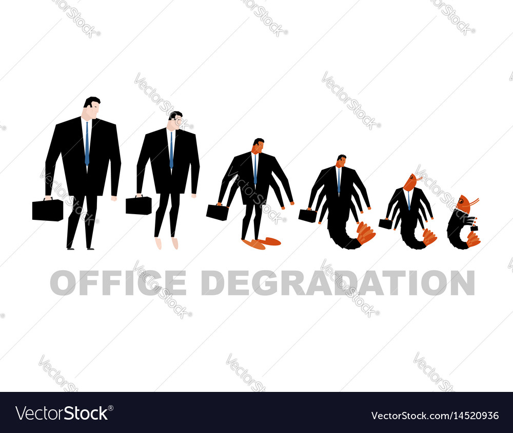Office degradation manager turns into office