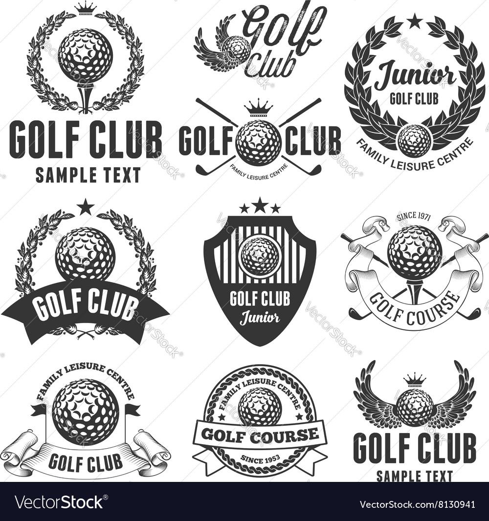 Golf Emblems