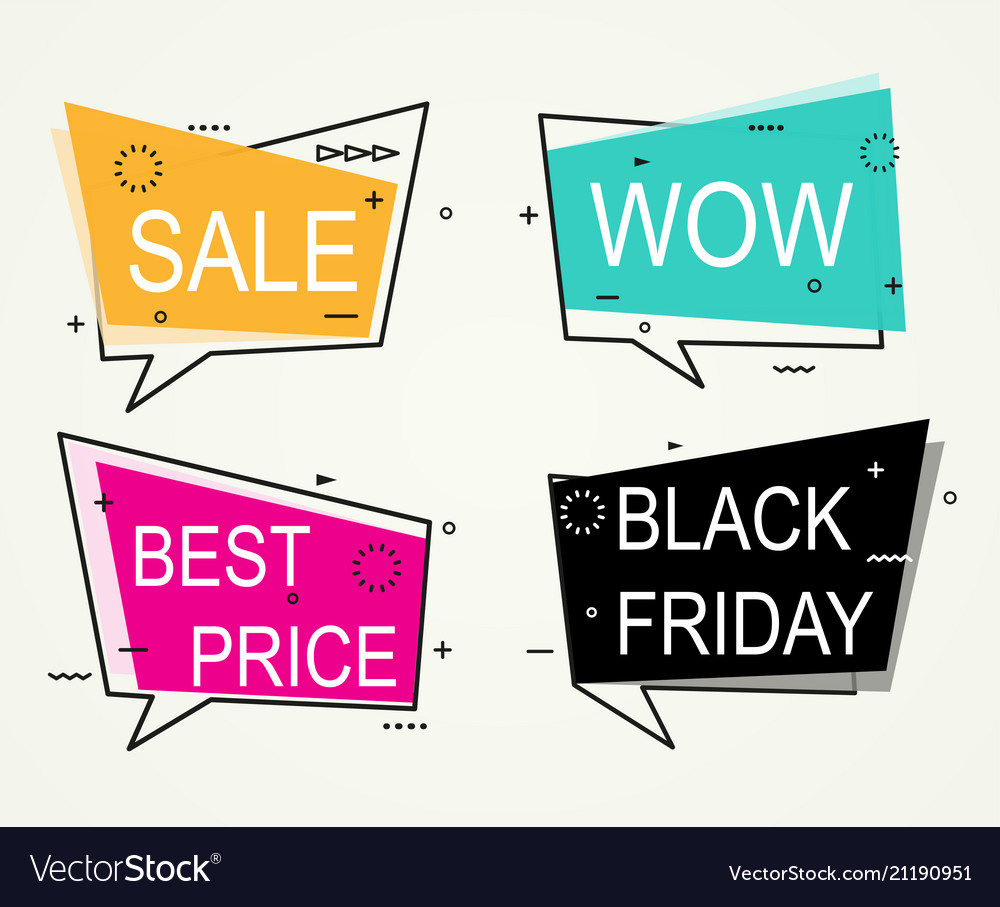 Sale discount banners best price