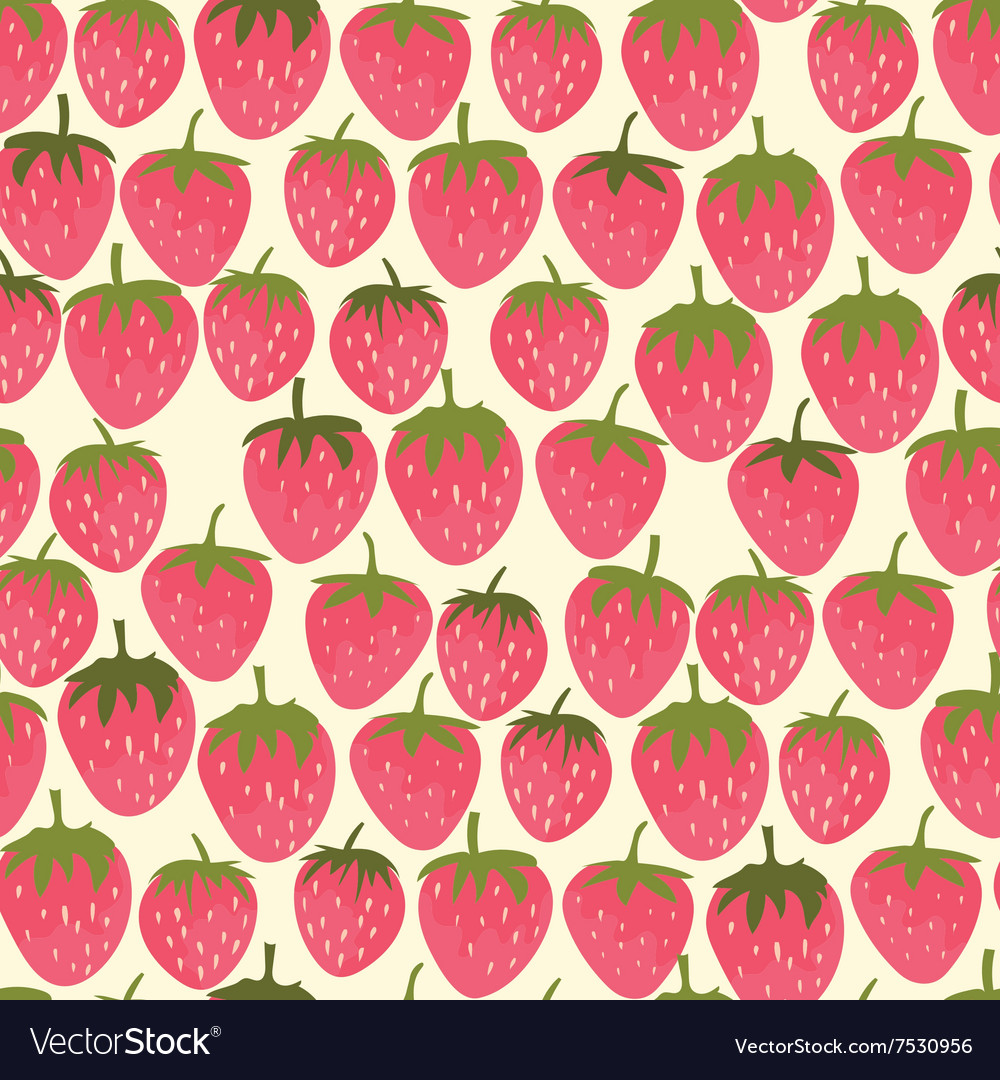 Strowberry seamless pattern
