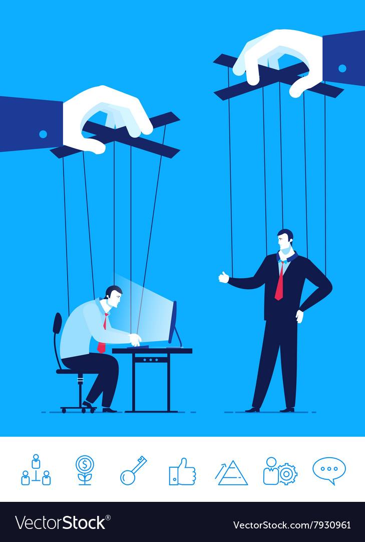 Business concept Businessman