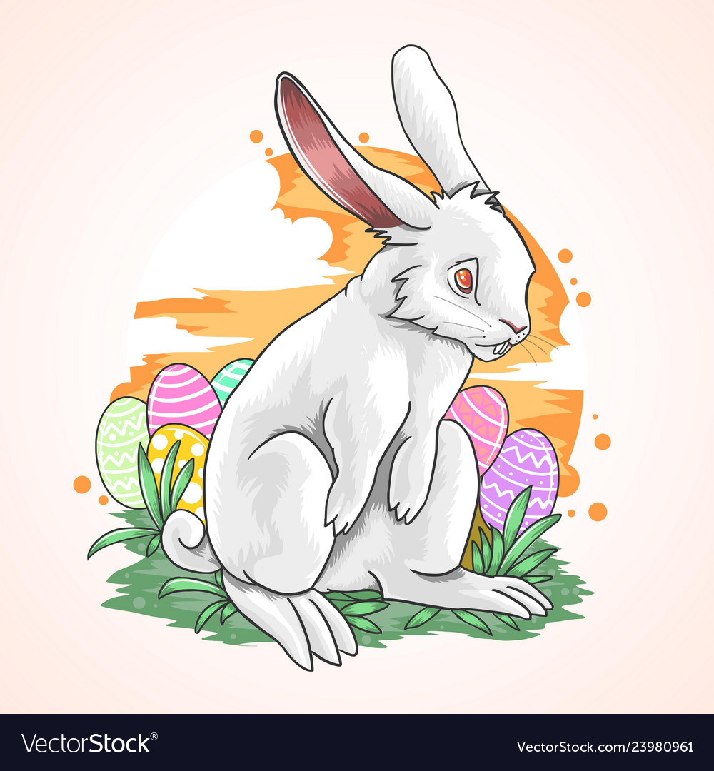Rabbit easter fullcolour