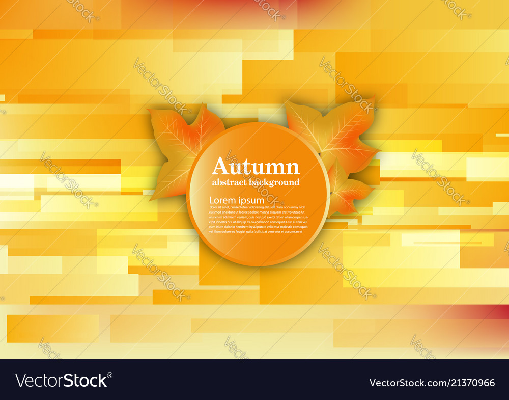 Abstract background for autumn concept