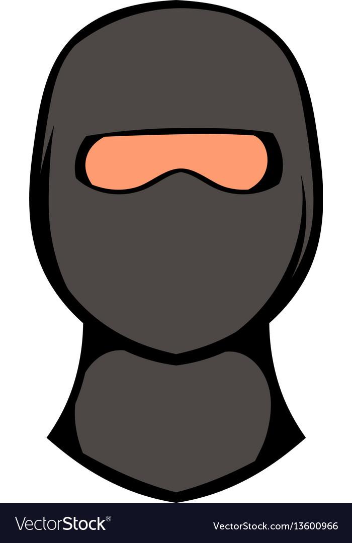 Ninja mask icon icon cartoon