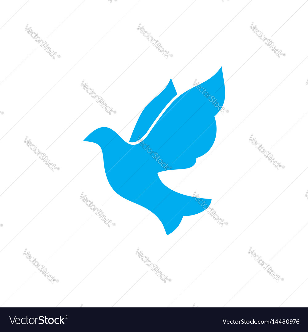 Dove A Symbol Of The Holy Spirit Royalty Free Vector Image