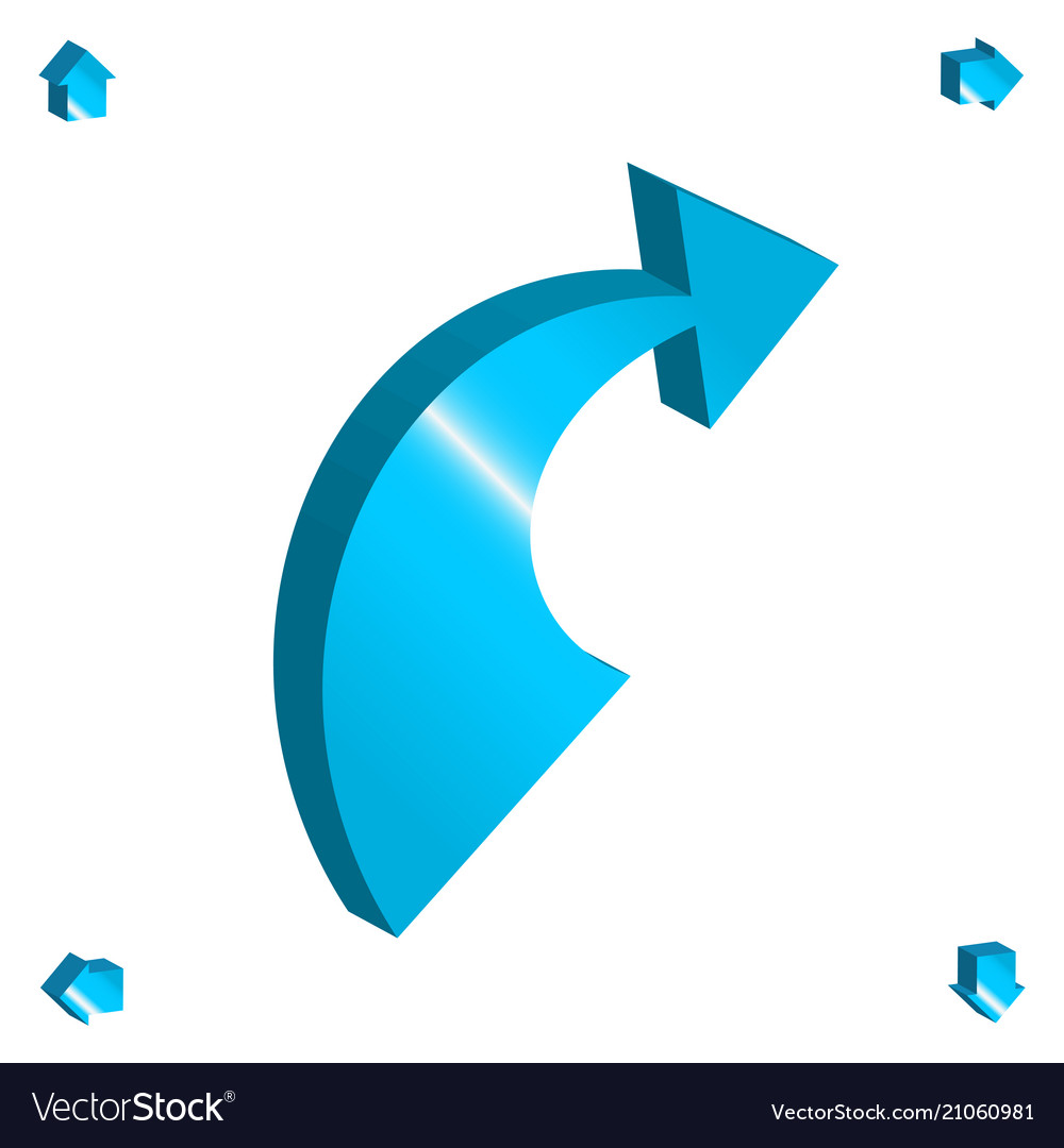 3d arrow icon