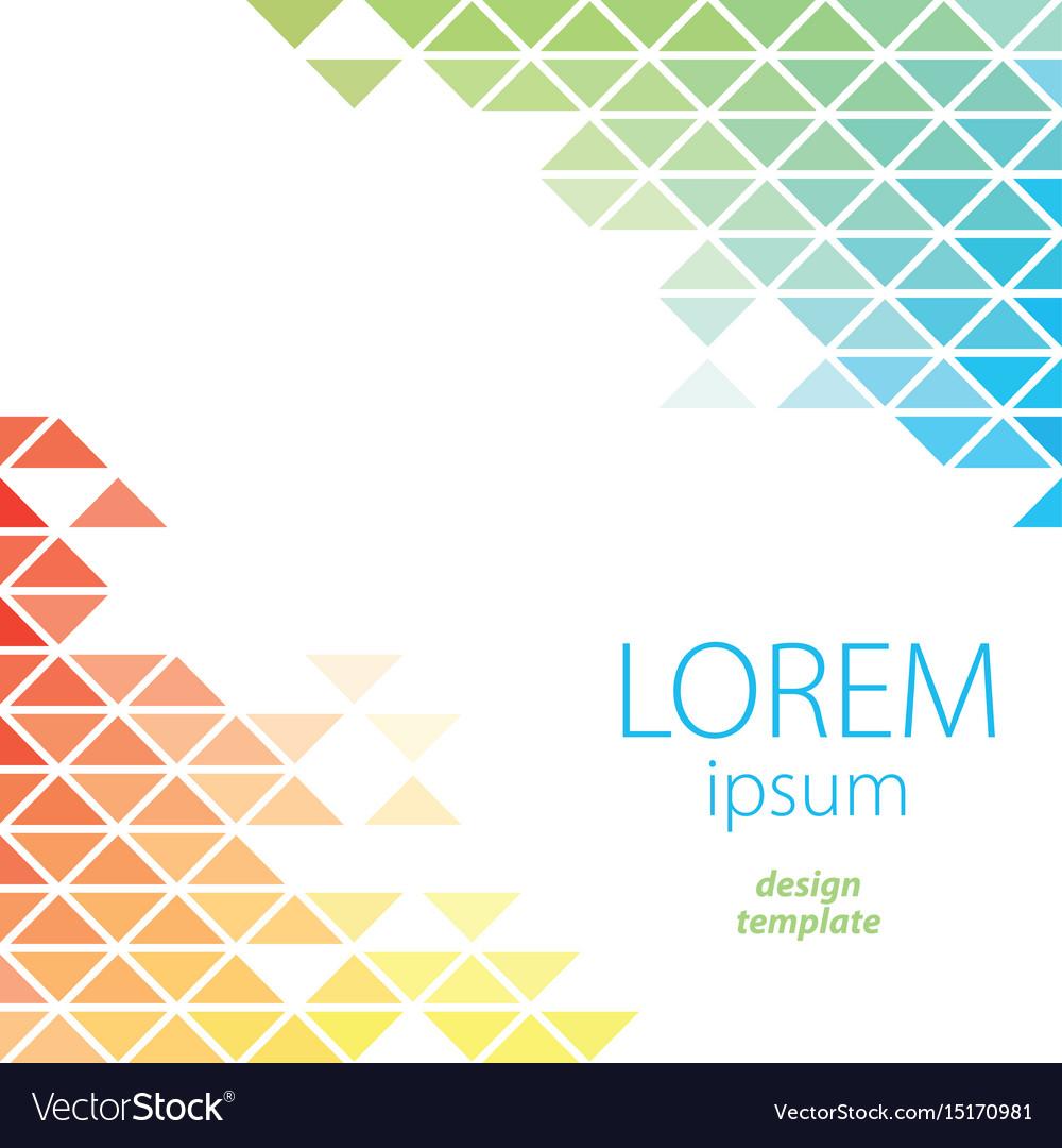 Design template lorem ipsum poster