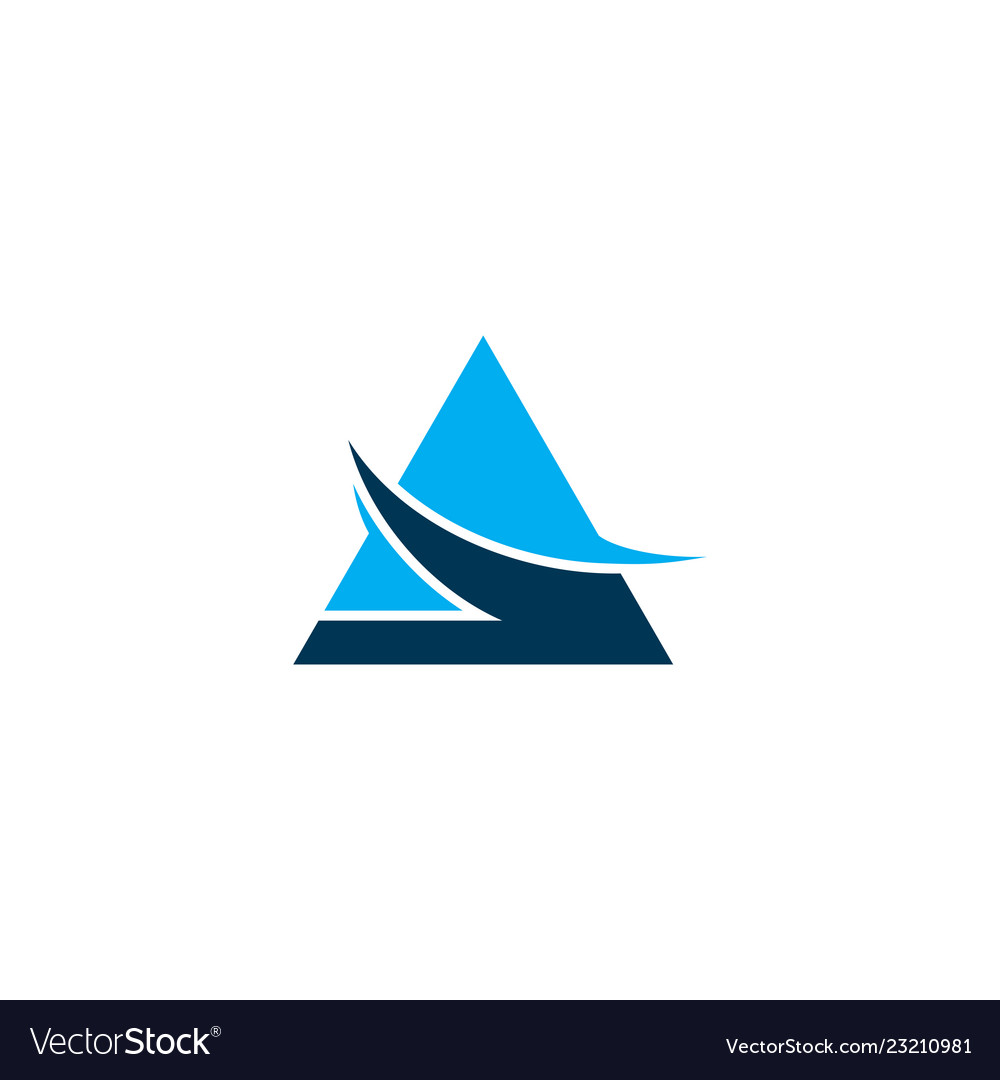 Triangle logo business
