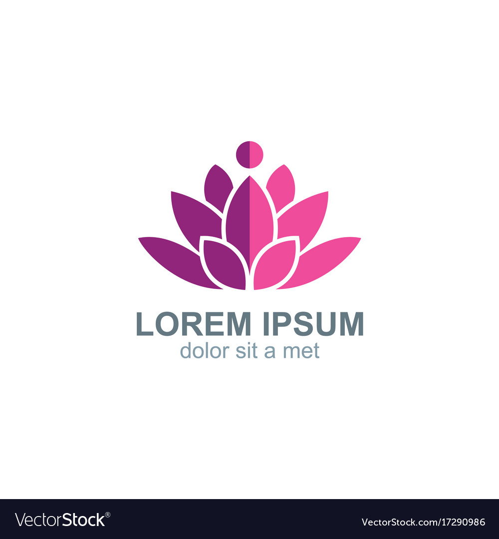 Beauty lotus flower spa logo royalty free vector image beauty lotus flower spa logo vector image izmirmasajfo