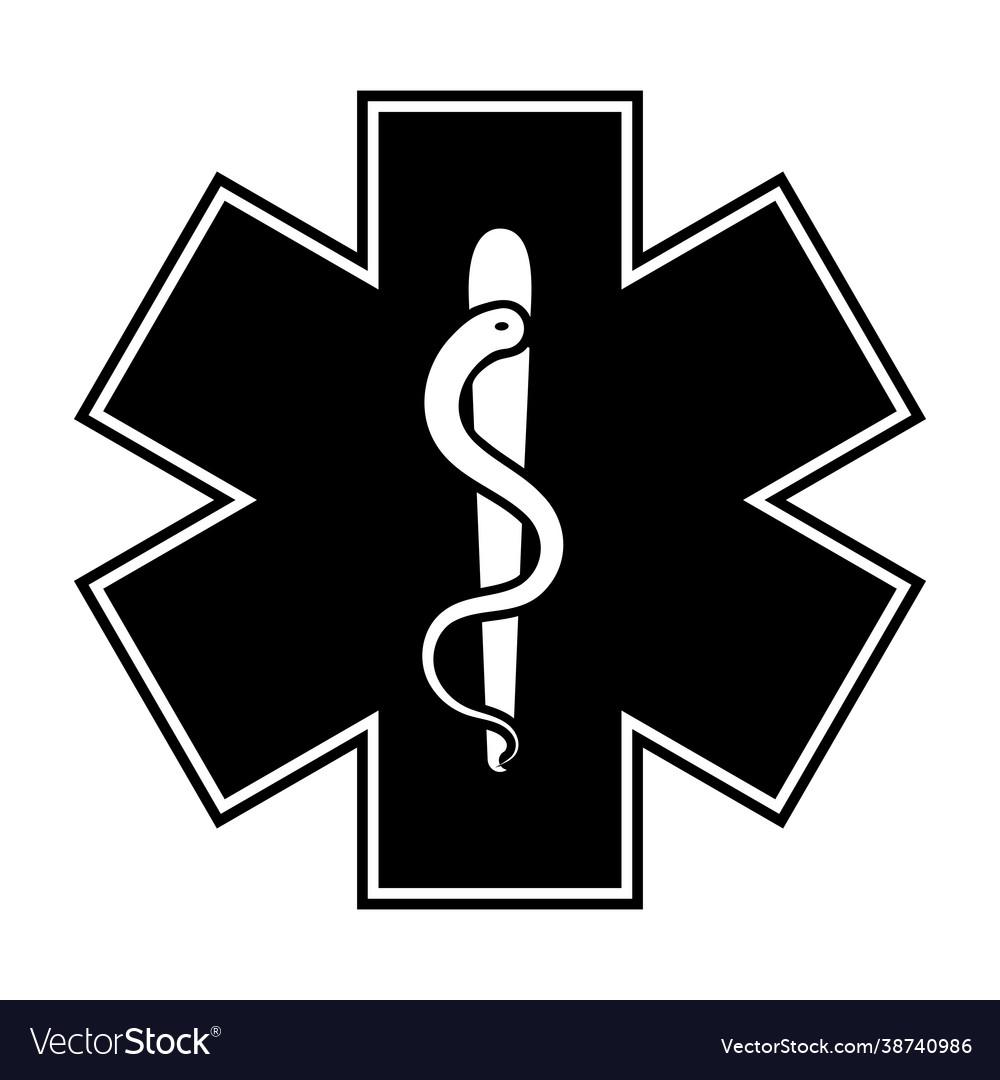 Life star medical snake medical symbol