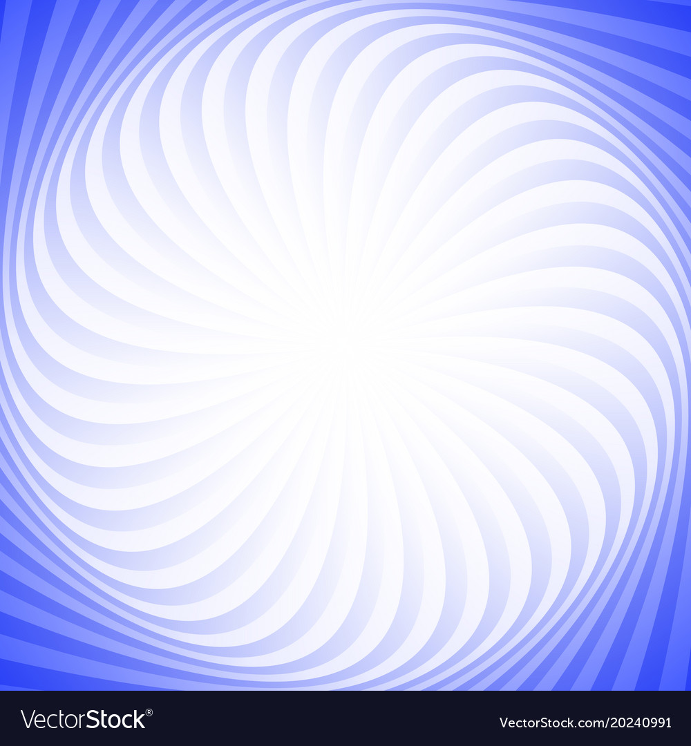 Geometric abstract swirling ray background vector image