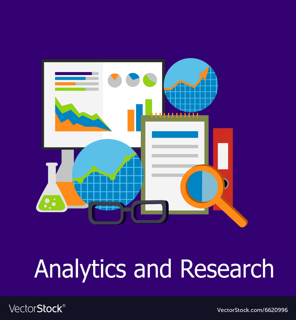 Analytics and Research Concept Design Style
