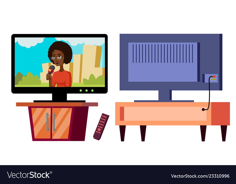 Modern plasma tv full hd 4k screen