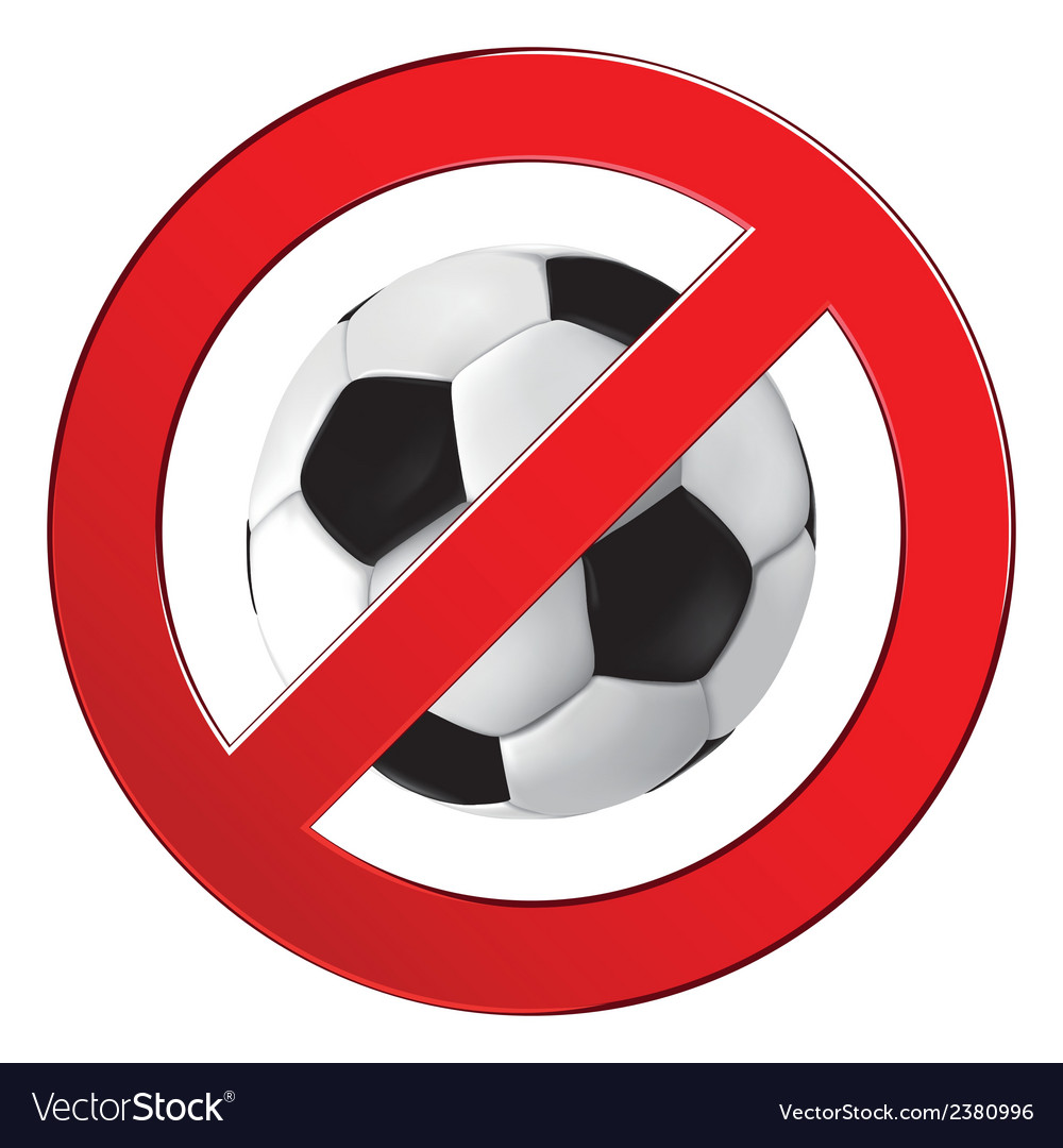 No ball games football soccer