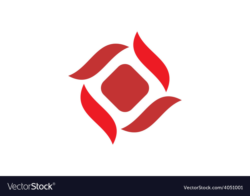 Business circle abstract construction logo