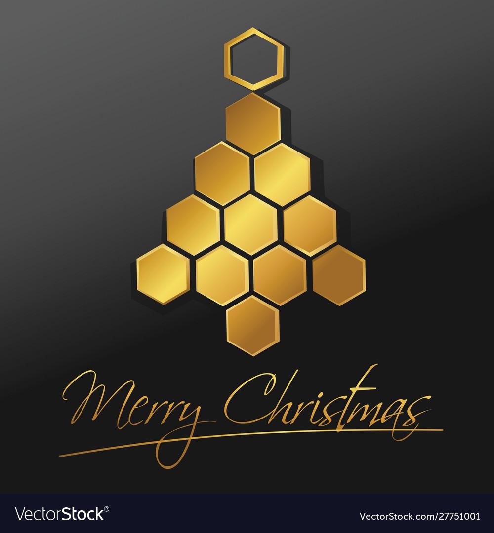 Christmas tree design - holiday background
