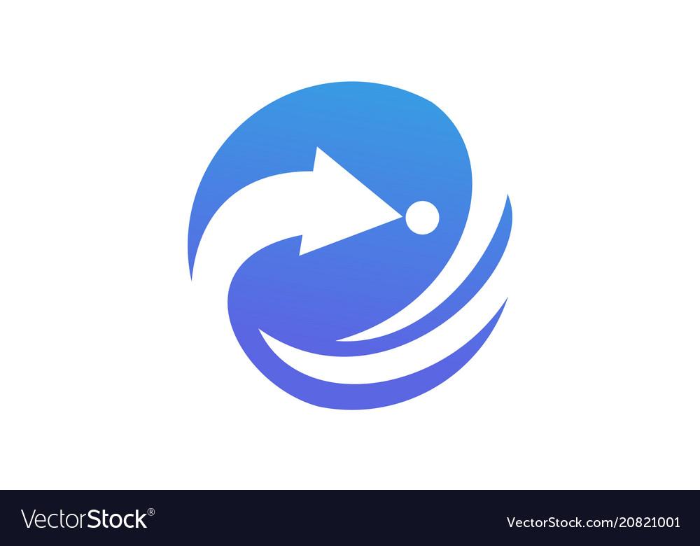 Leadership success logo design template