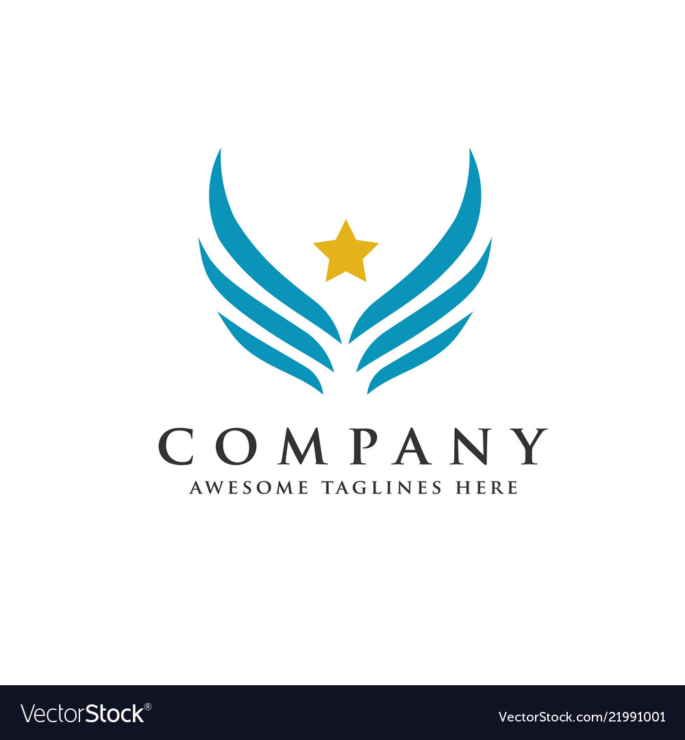 Star wings logo