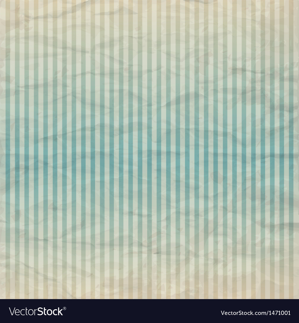 Vintage striped background vector image