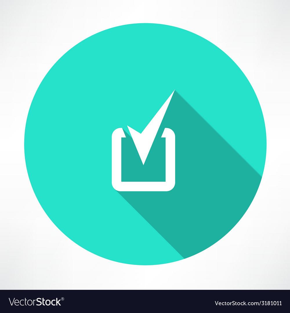 Checkmark Icon vector image