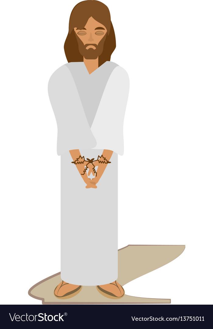 Jesus christ sentenced death - via crucis