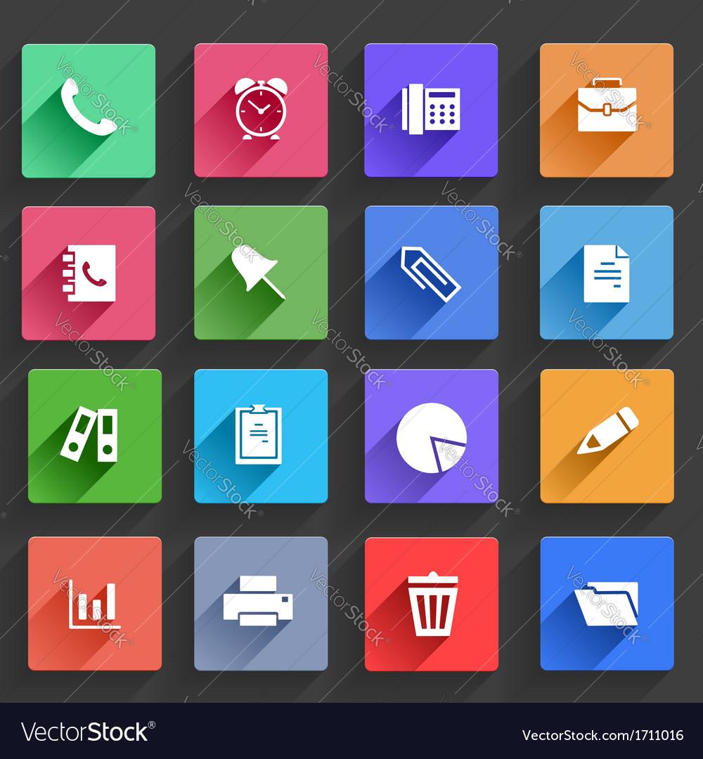 Flat Application Icons Set