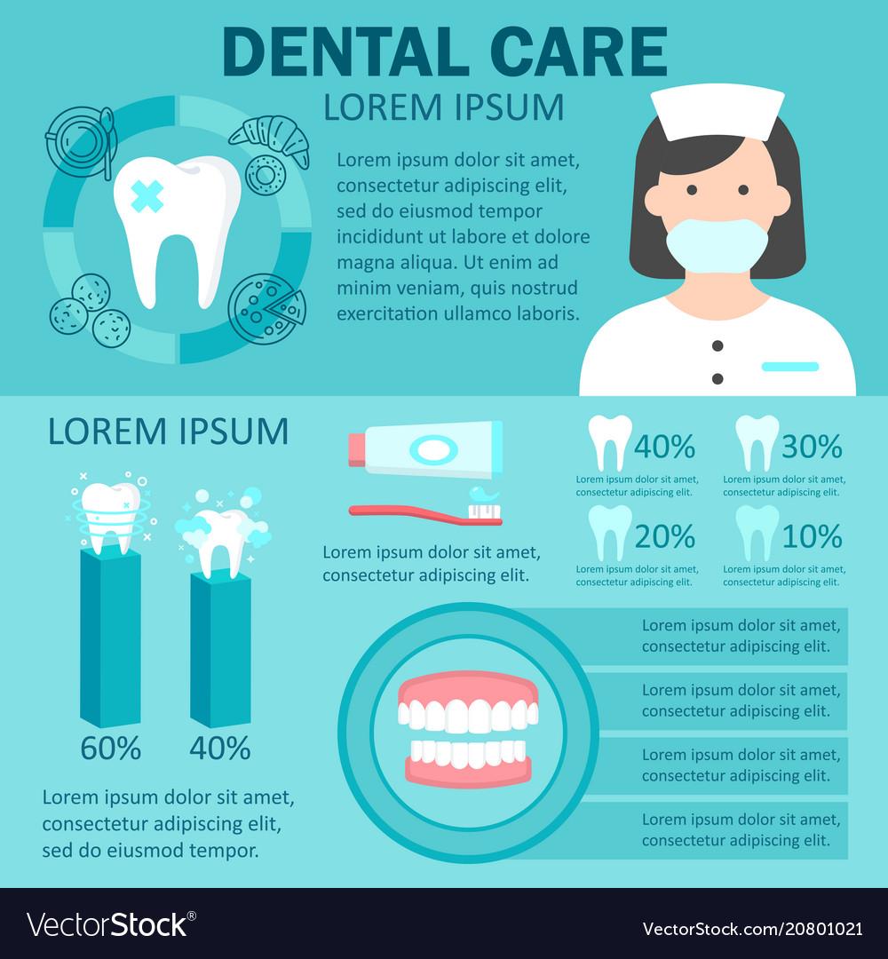 dental-care-infographic-set-vector-20801