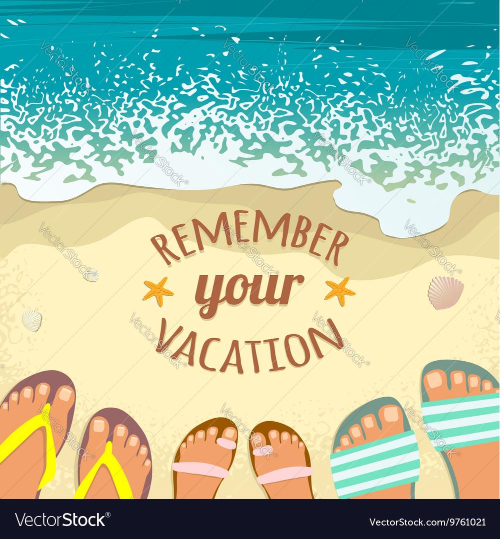 Sea Beach Summer With Sandals Background Sand m0PnvON8yw