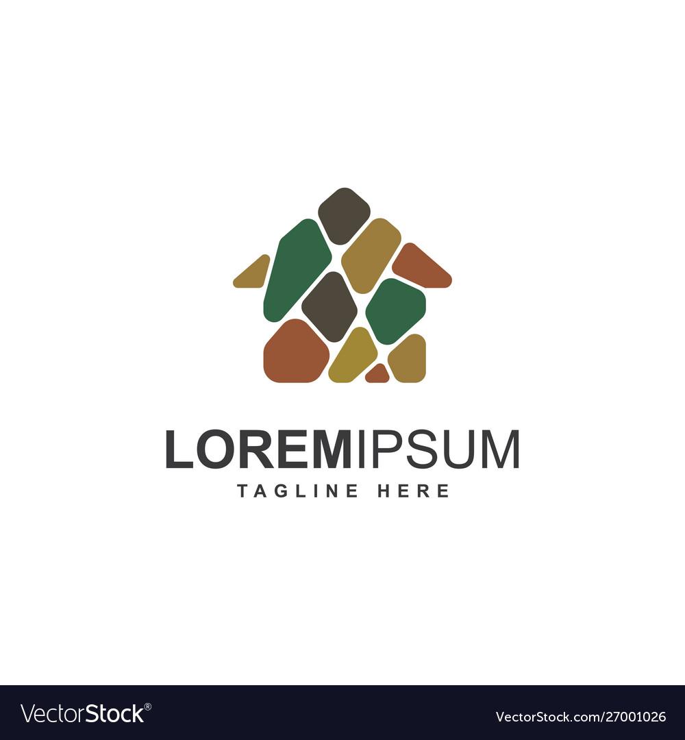Home stone logo