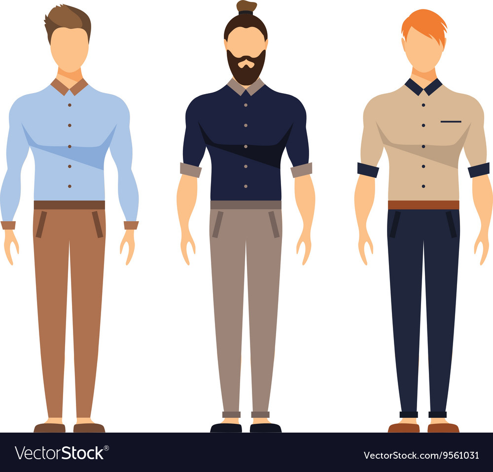 Men in office clothes Casual Outfit Business