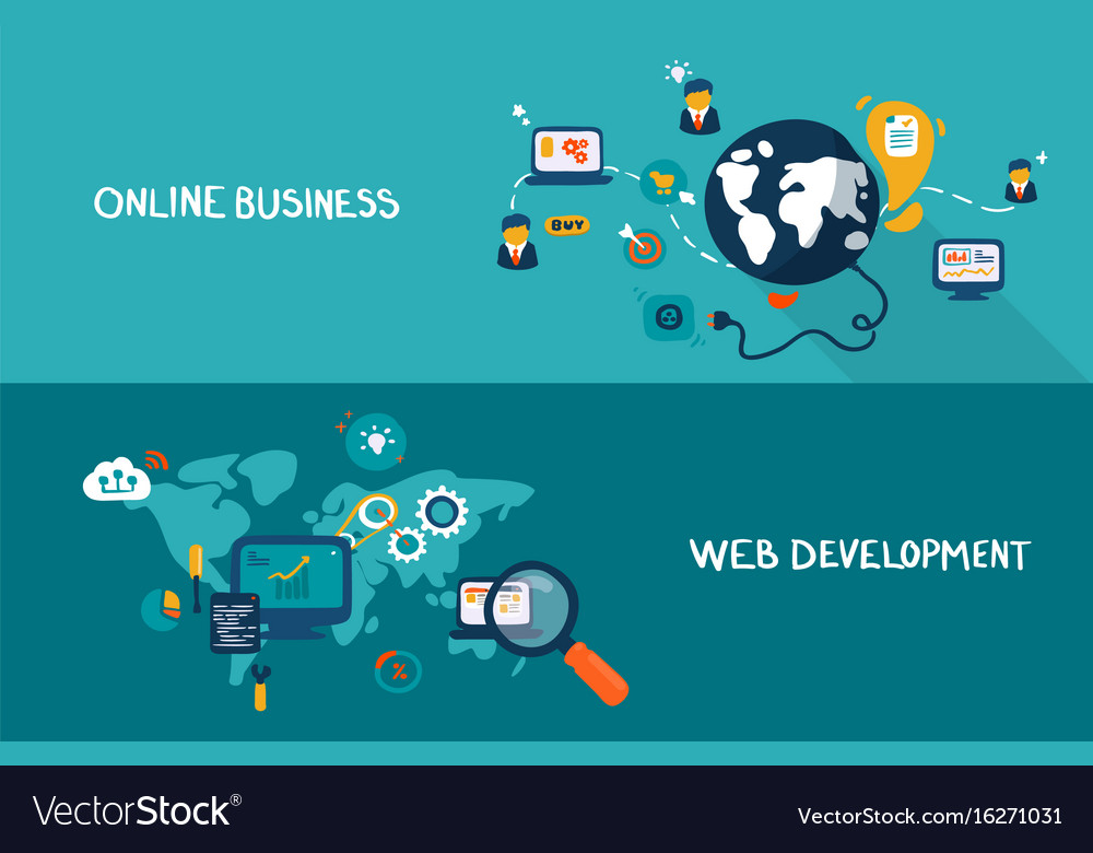 Online business and web development