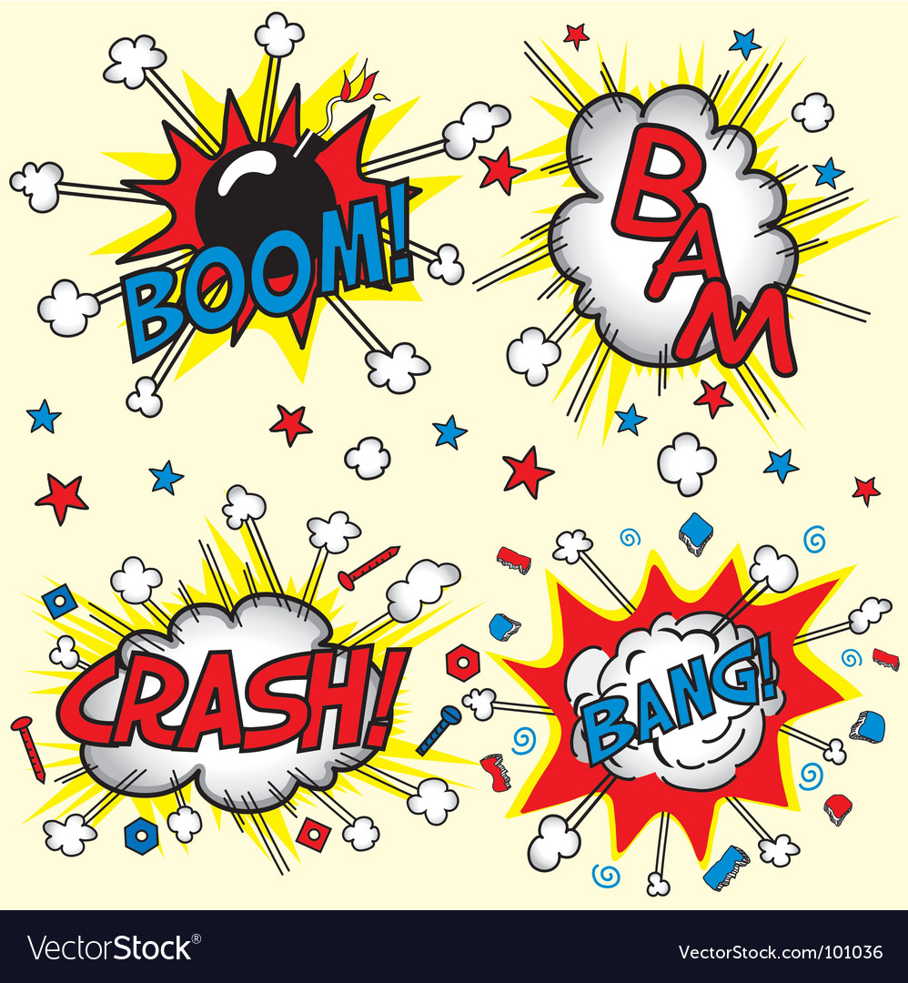 Crash bam boom and bang