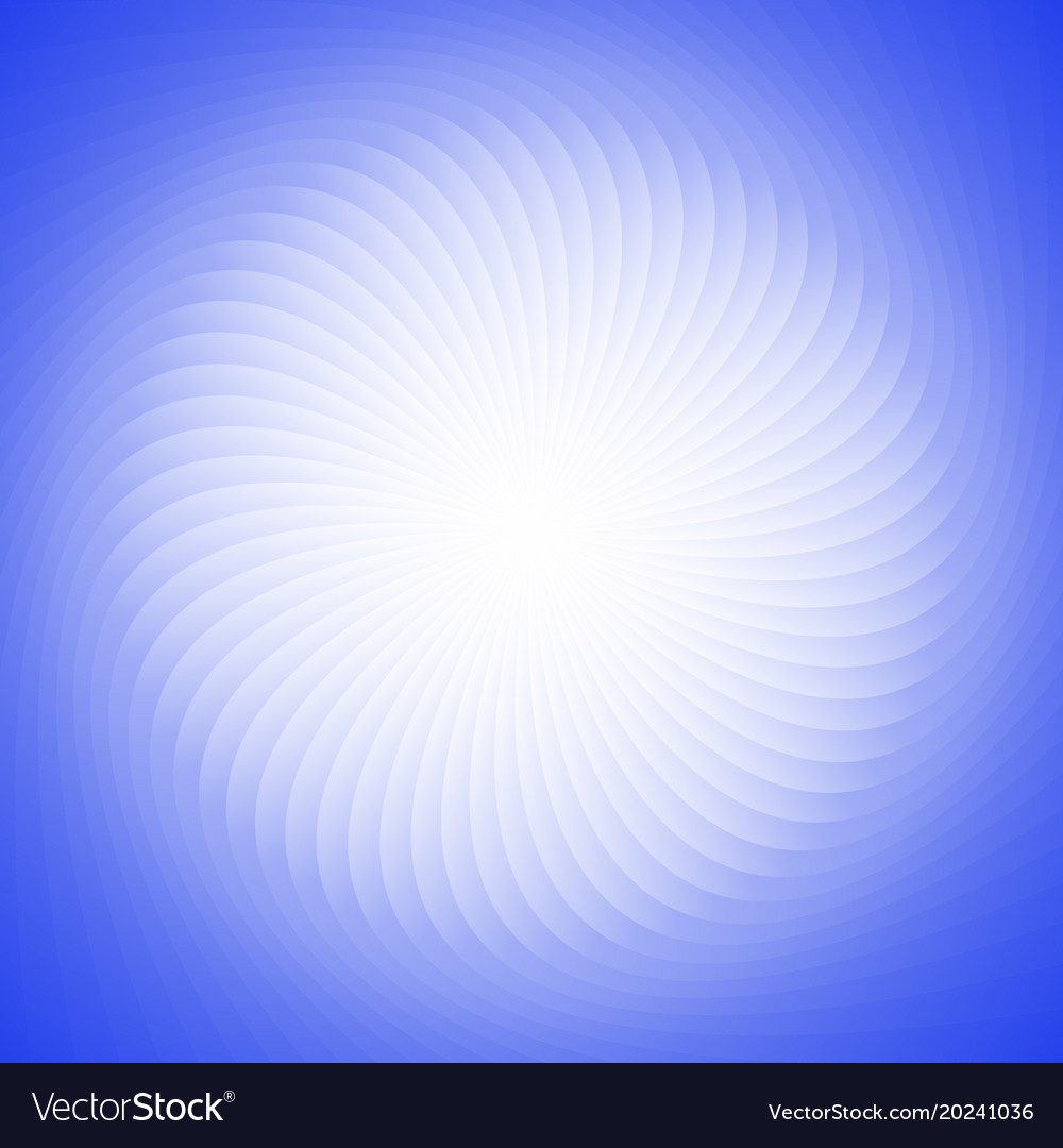 Geometric spiral background from rotated rays