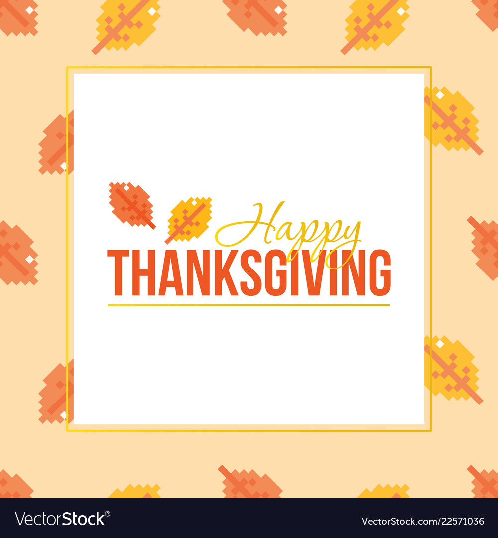 Thanksgiving day colorful greeting card