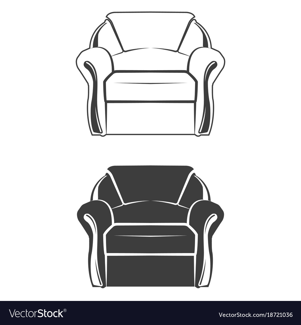 Two comfortable armchair